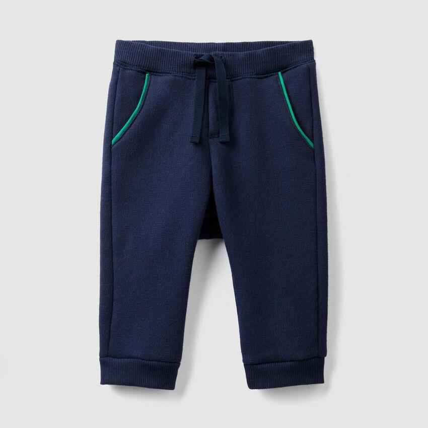 Pantalon en molleton avec coulisse