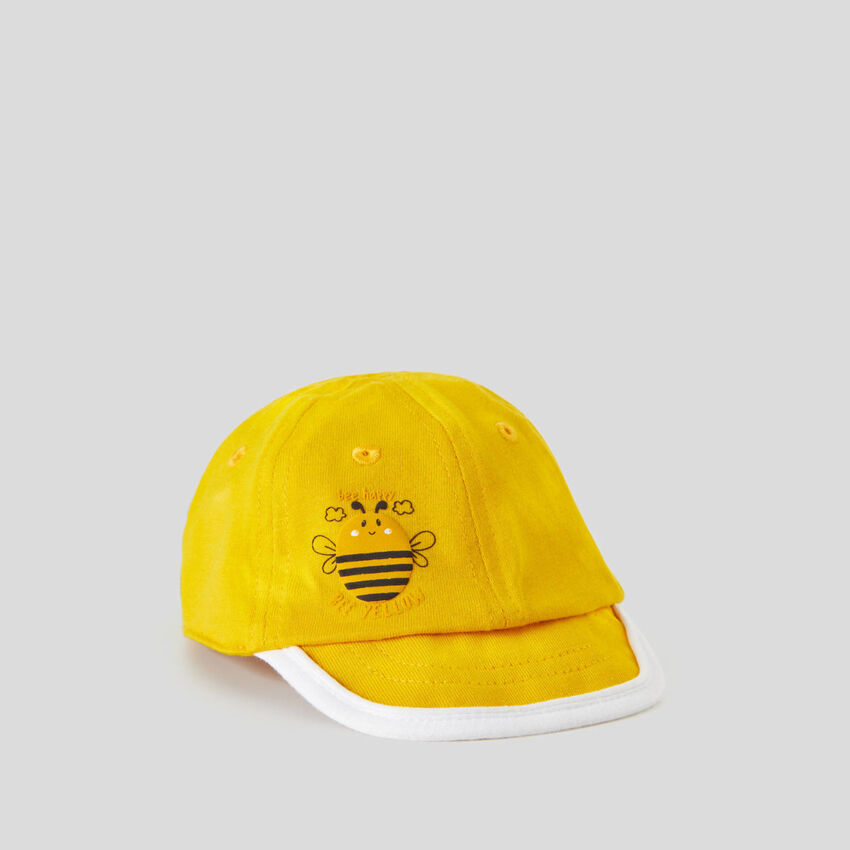 Casquette jaune