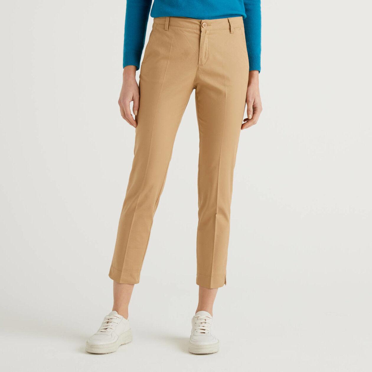 Pantalon chino stretch