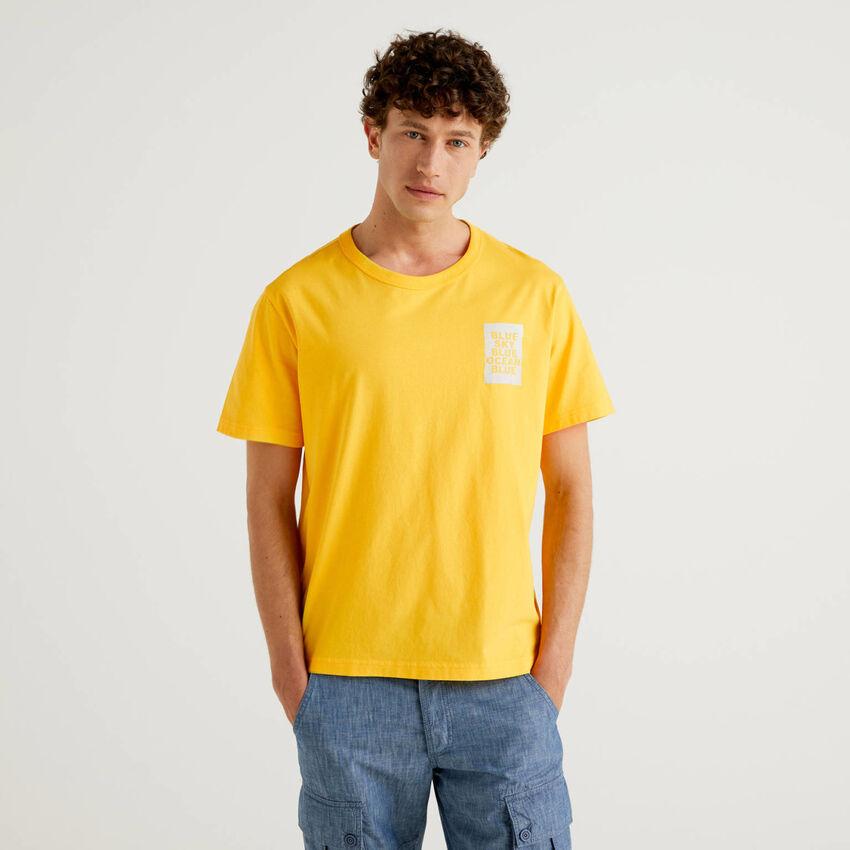 T-shirt avec imprimé en coton bio