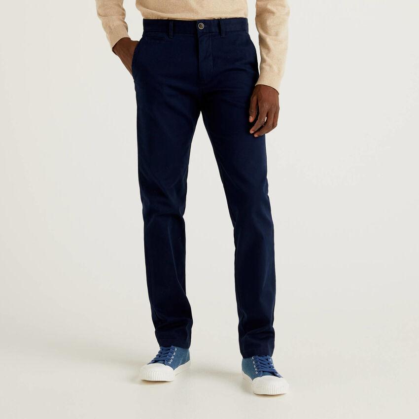 Chino coupe slim en coton stretch