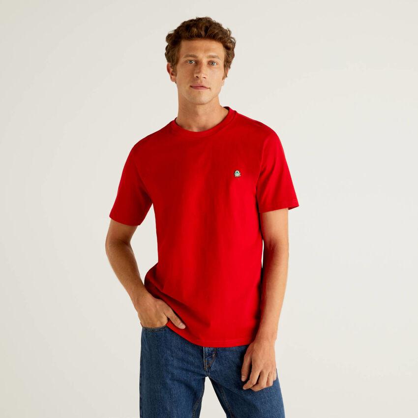 T-shirt basique en 100% coton bio