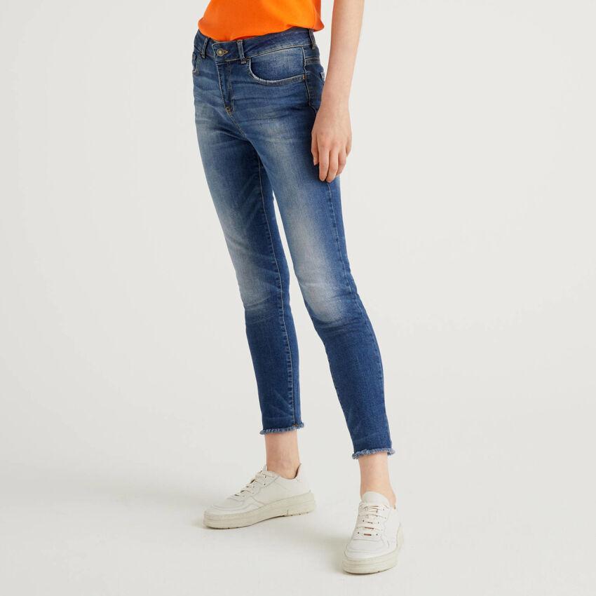 Jeans à franges