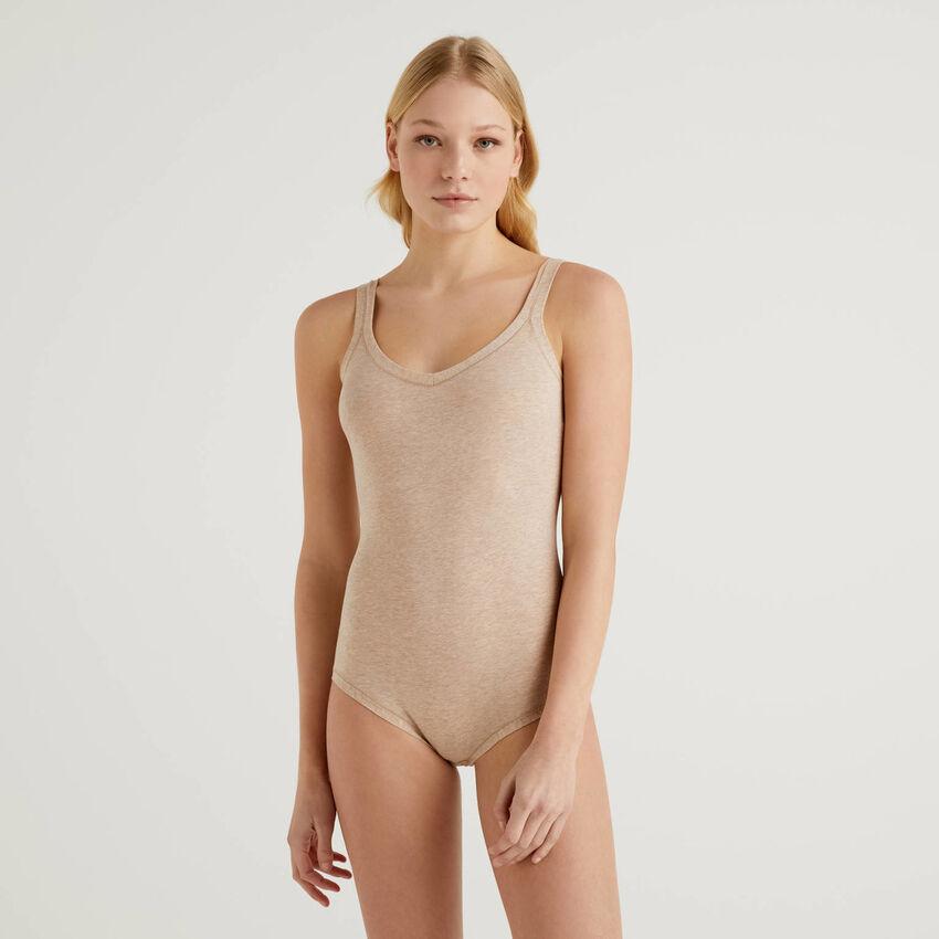 Body en coton stretch