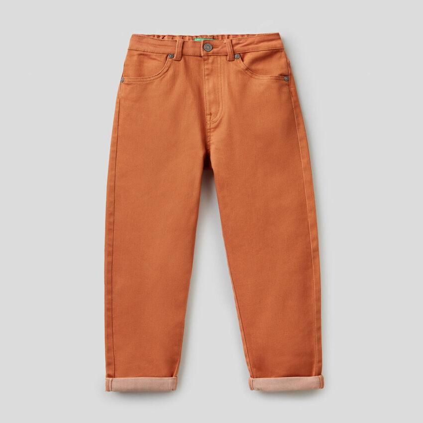 Pantalon avec taille stretch