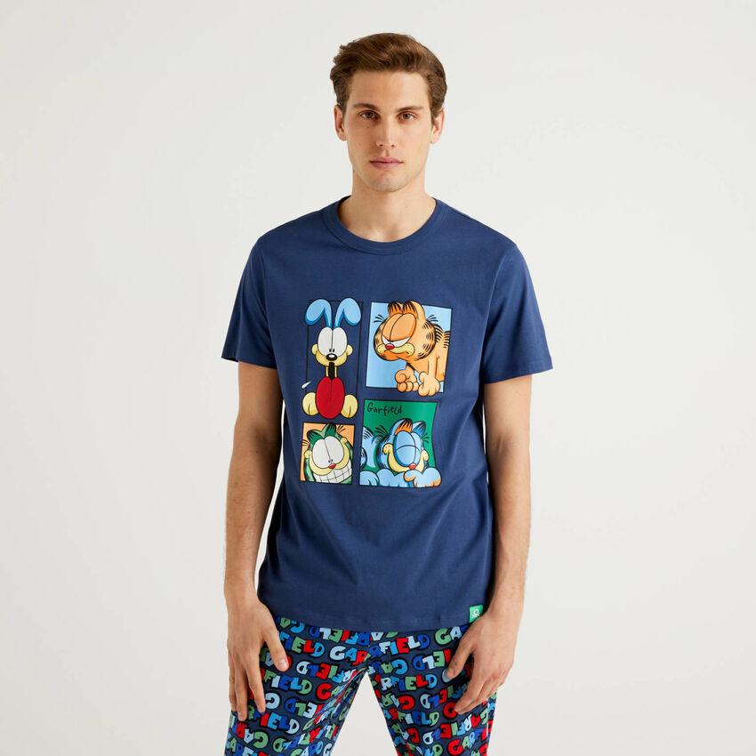 T-shirt Garfield en pur coton