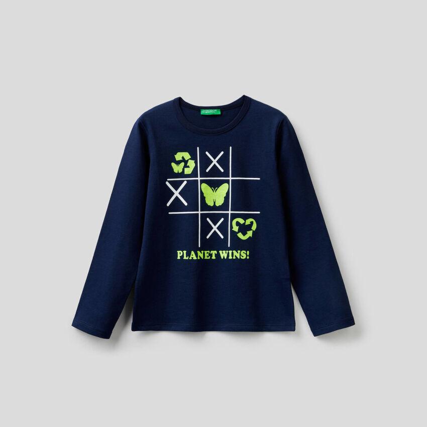 T-shirt imprimé 100% coton