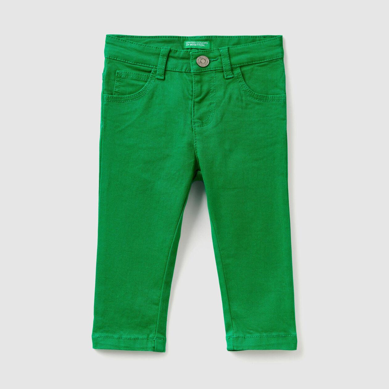 Pantalon stretch coupe slim