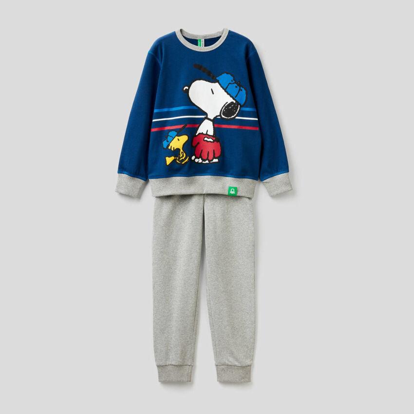 Pyjama Peanuts en pur coton