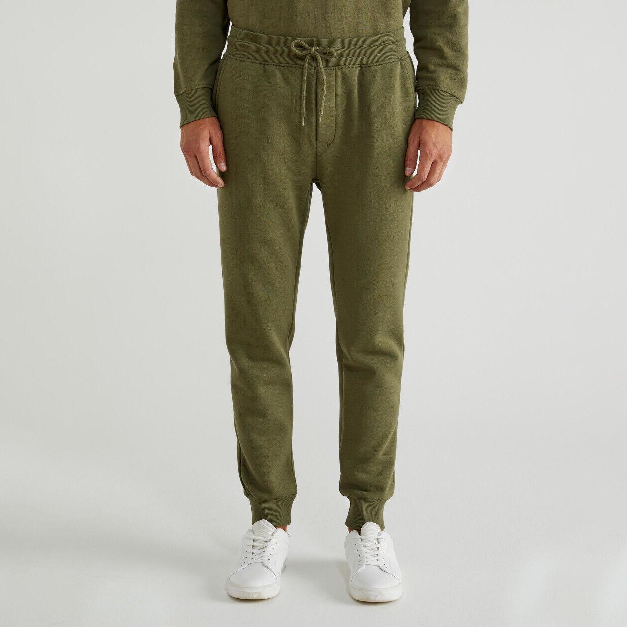 Pantalon en molleton avec poches