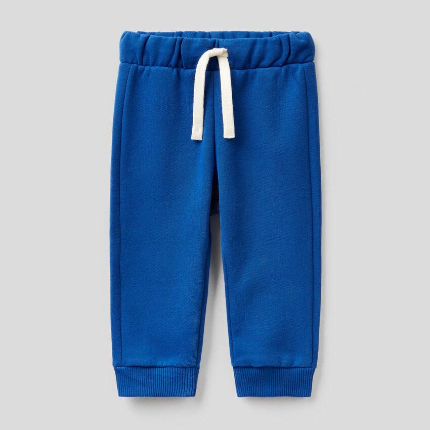 Pantalon de jogging à logo brodé