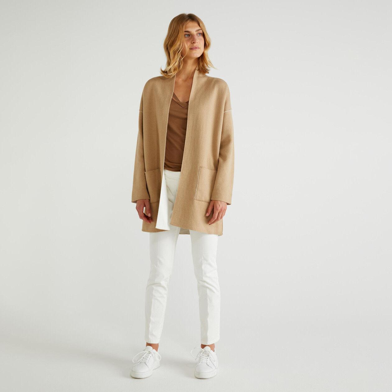 Manteau réversible