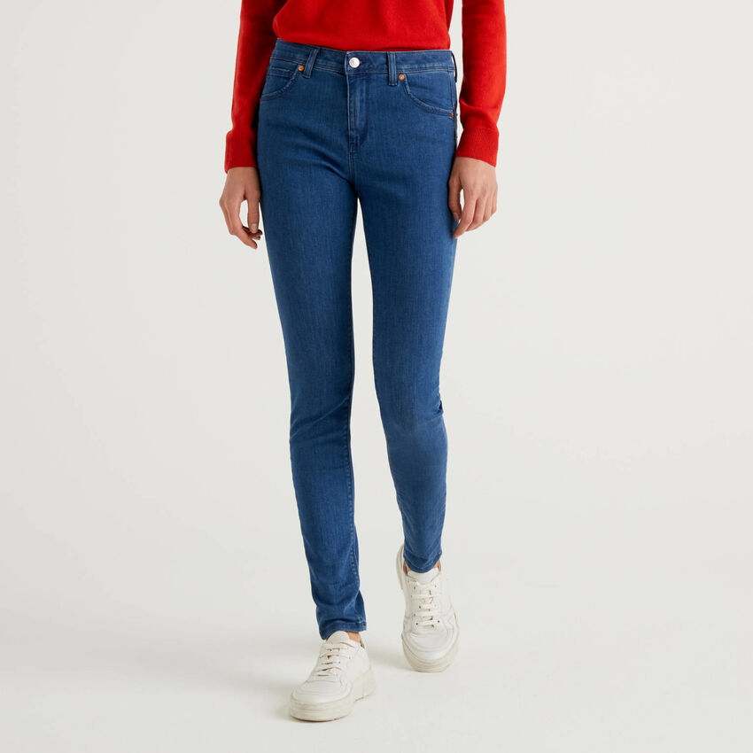Jeans push-up coupe skinny