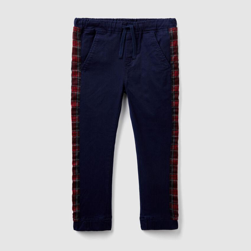 Pantalon bandes fantaisie