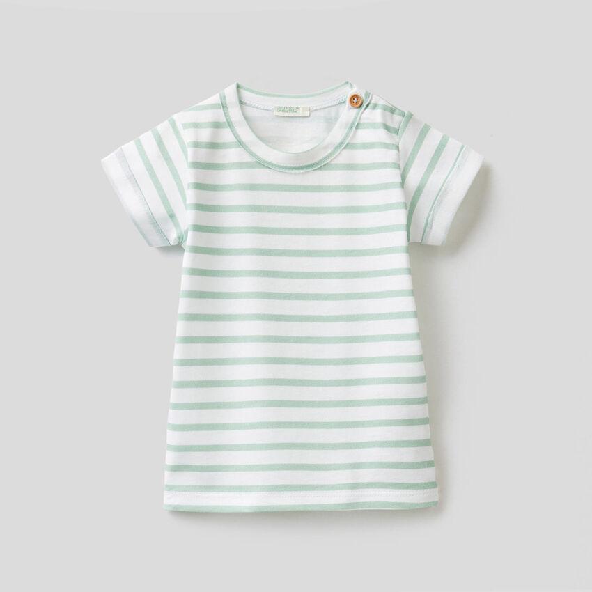 T-shirt imprimé en pur coton