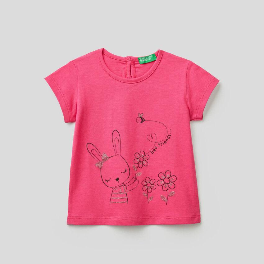 T-shirt en 100% coton