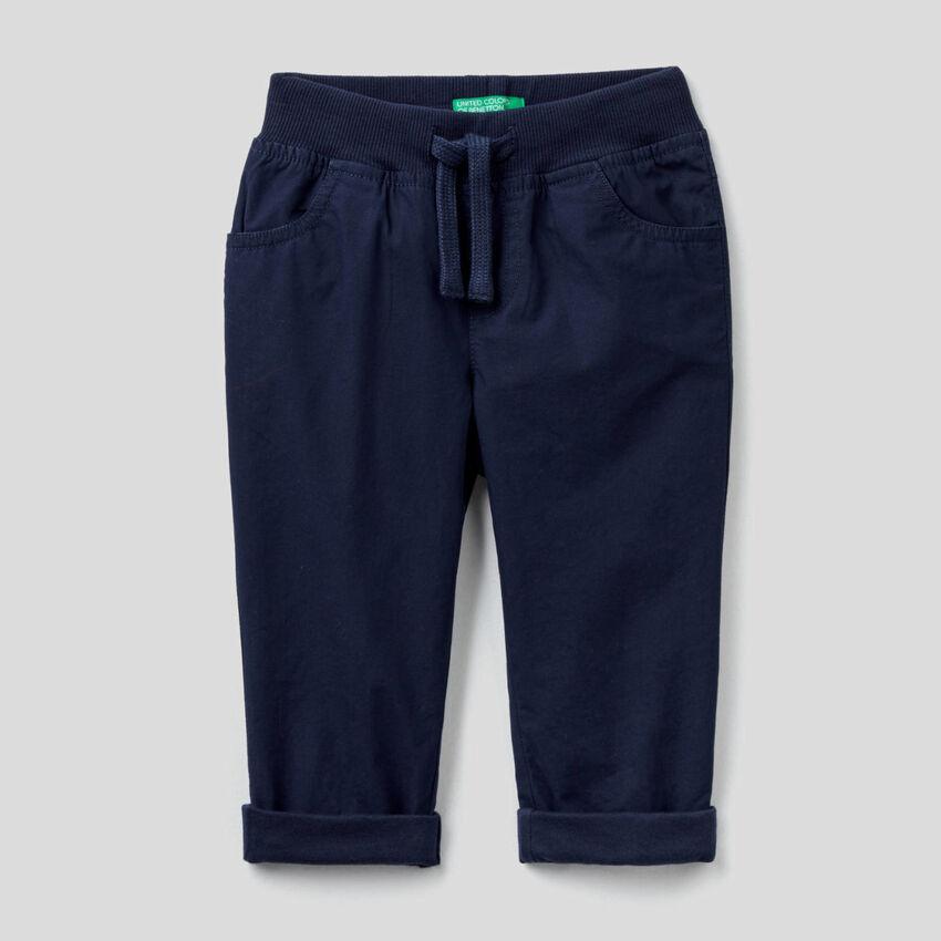 Pantalon avec cordon de serrage