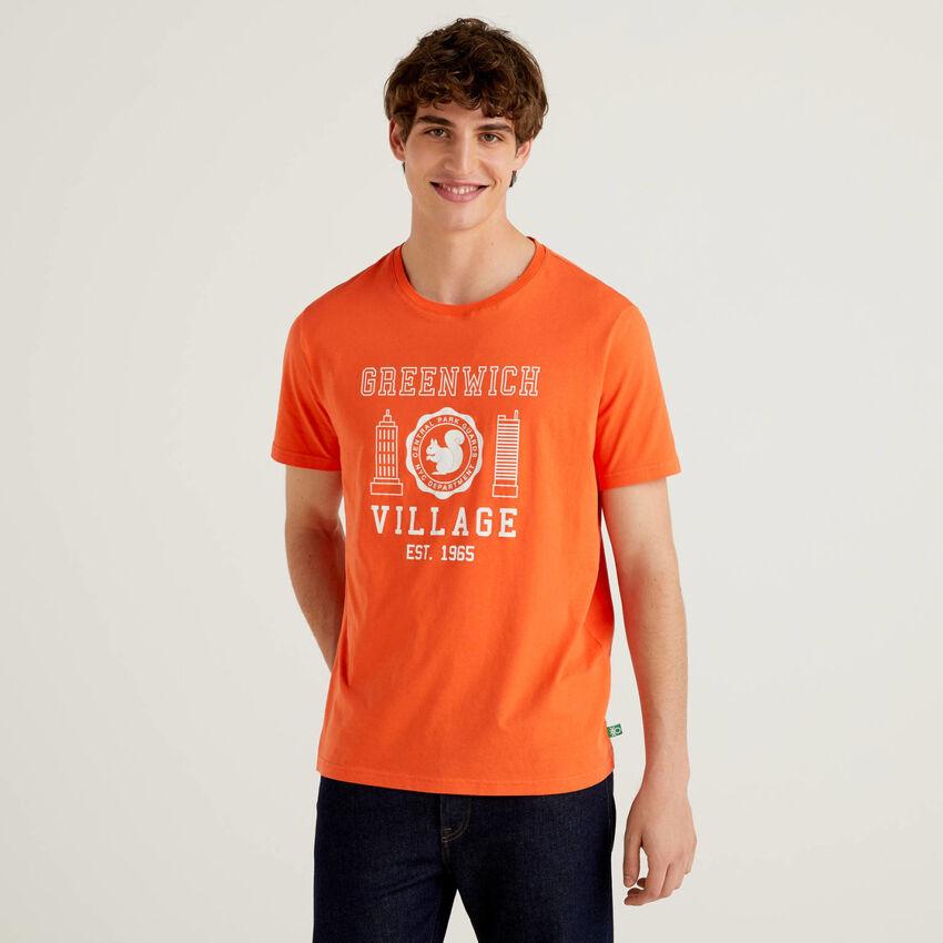 T-shirt 100% coton bio avec imprimé