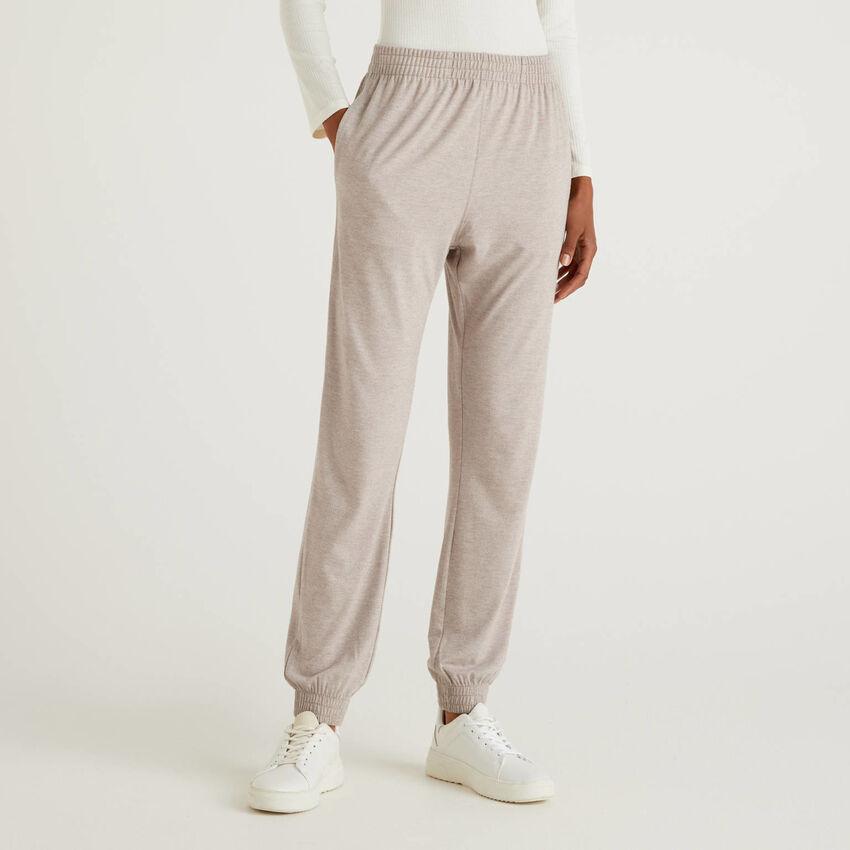 Pantalon longueur fluide