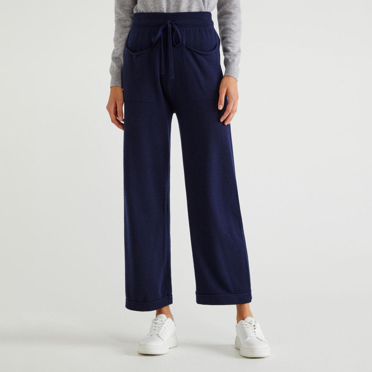 Pantalon en jersey à poches