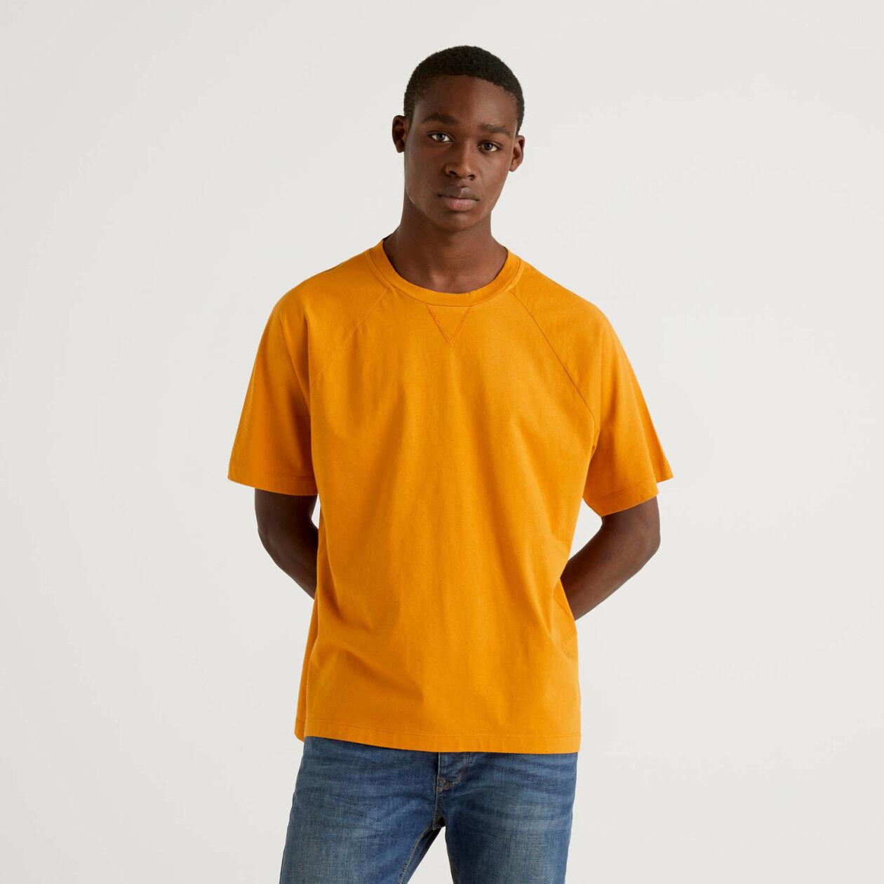 T-shirt 100% coton avec manche raglan